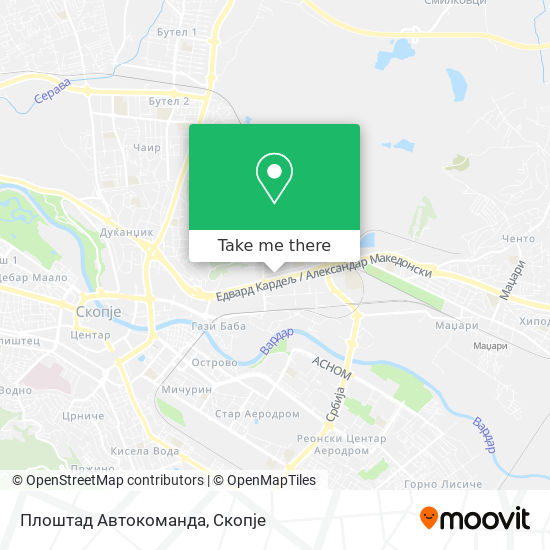 Плоштад Автокоманда map