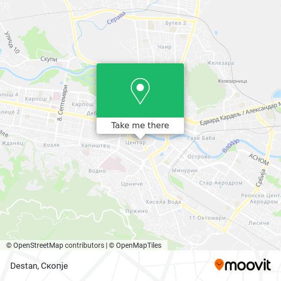 Destan map