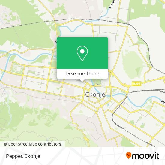 Pepper map