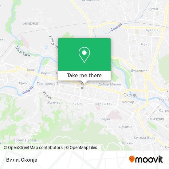Вили map