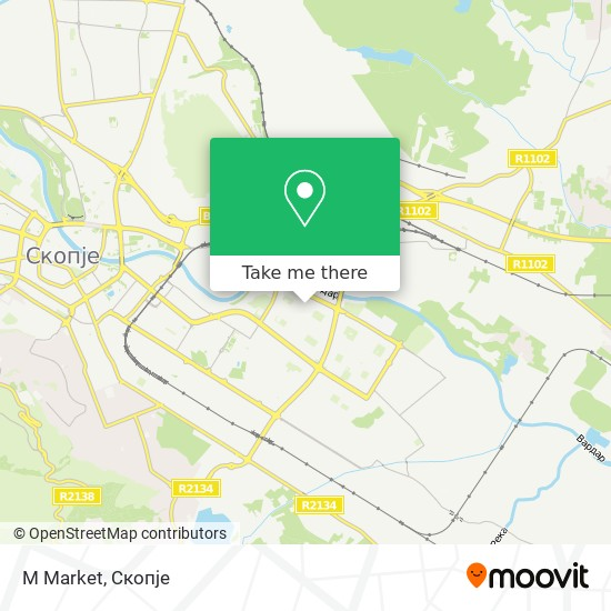 M Market map