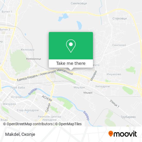 Makdel map