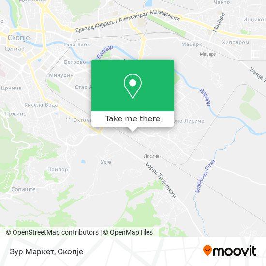 Зур Маркет map