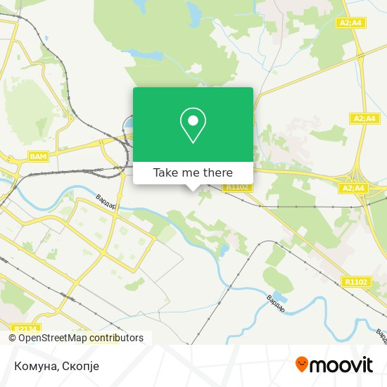 Комуна map