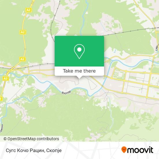 Сугс Кочо Рацин map