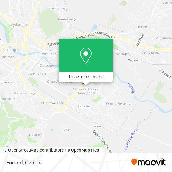 Famod map