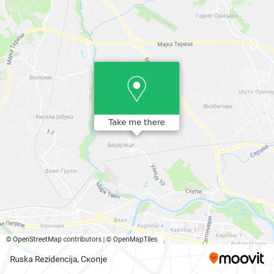 Ruska Rezidencija map