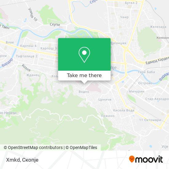 Xmkd map