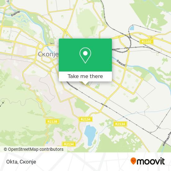 Okta map