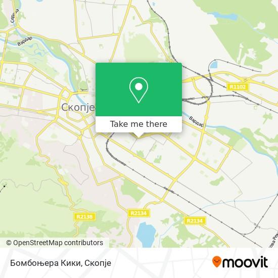 Бомбоњера Кики map