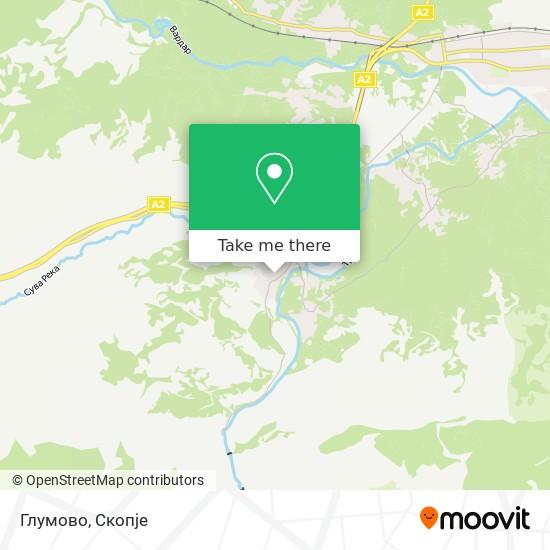 Глумово map