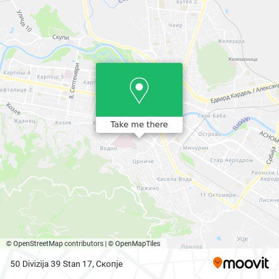 50 Divizija 39 Stan 17 map