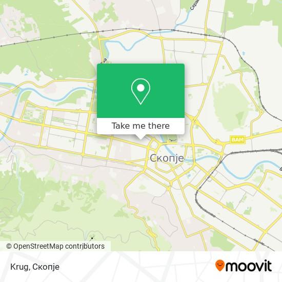 Krug map