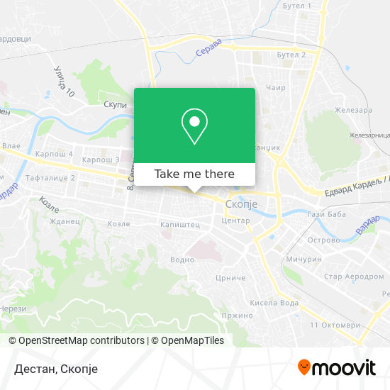 Дестан map