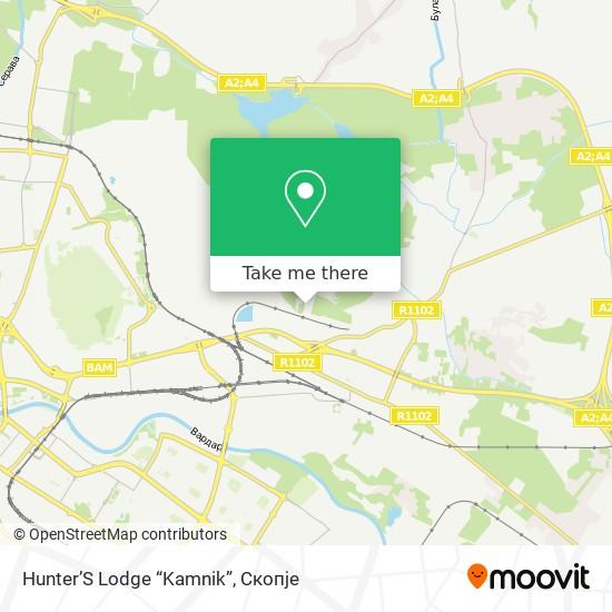 "Hunter'S Lodge ""Kamnik"" map"