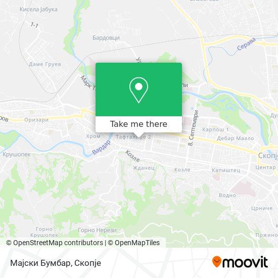 Мајски Бумбар map