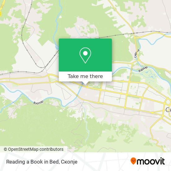 Reading a Book in Bed map