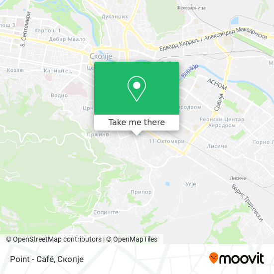 Point - Café map