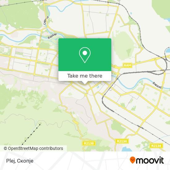 Plej map