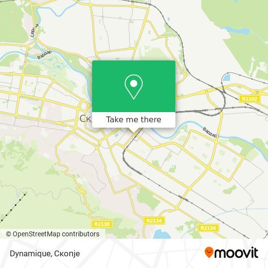 Dynamique map