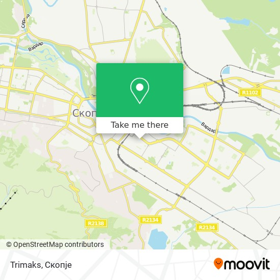 Trimaks map