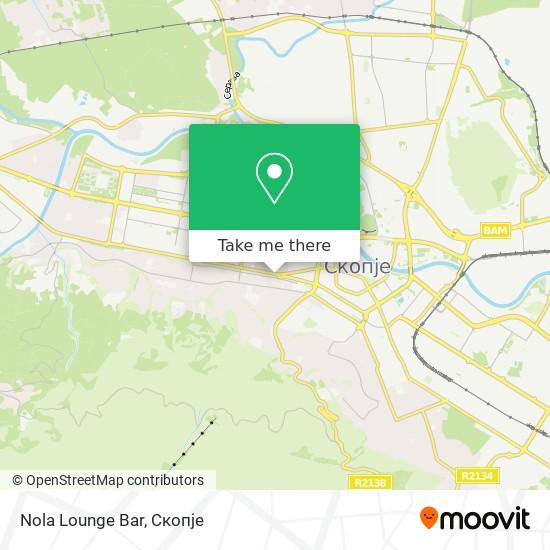 Nola Lounge Bar map
