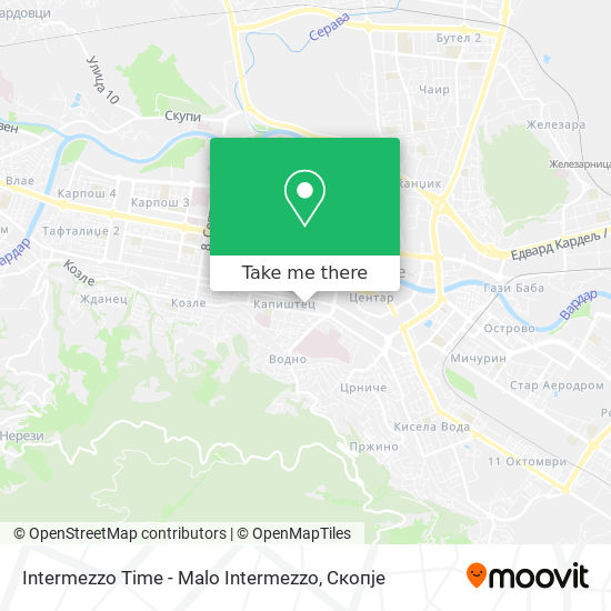 Intermezzo Time - Malo Intermezzo map