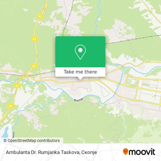 Ambulanta Dr. Rumjanka Taskova map