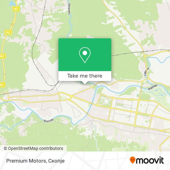Premium Motors map