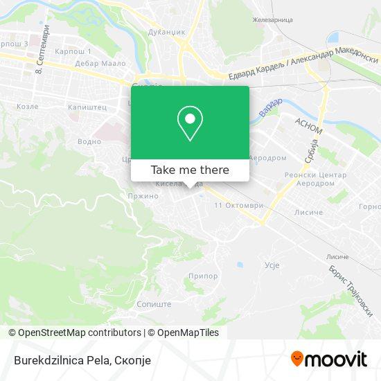 Burekdzilnica Pela map