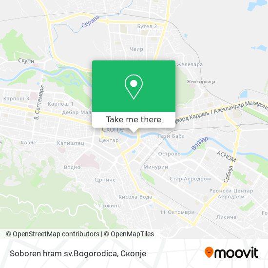 Soboren hram sv.Bogorodica map
