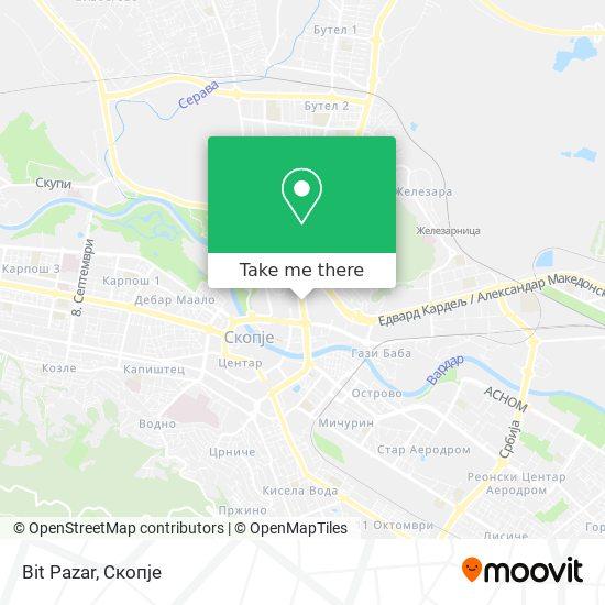 Bit Pazar map