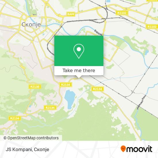 JS Kompani map