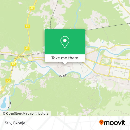 Stiv map
