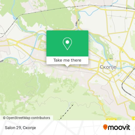 Salon 29 map