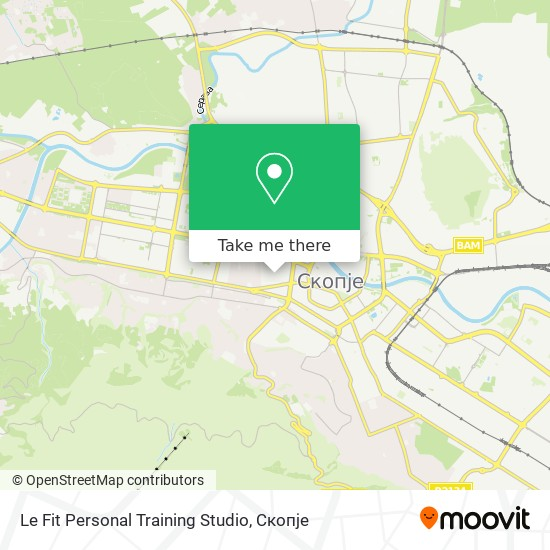 Le Fit Personal Training Studio map