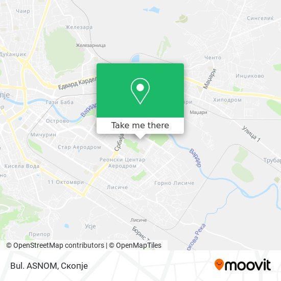 Bul. ASNOM map