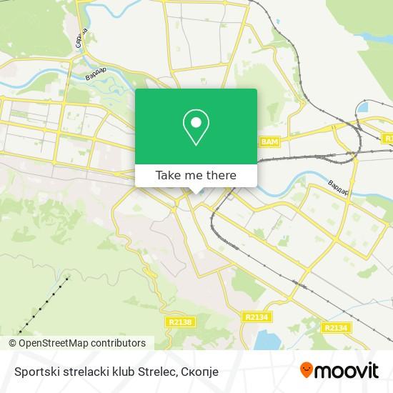 Sportski strelacki klub Strelec map