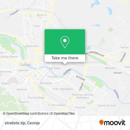 streliste zip map