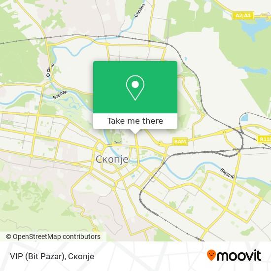 VIP (Bit Pazar) map