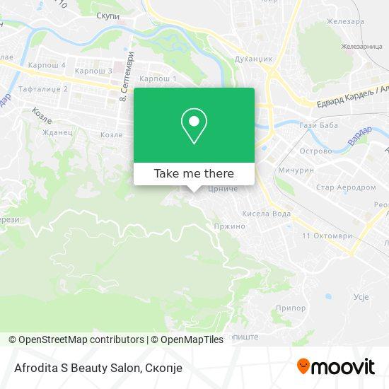 Afrodita S Beauty Salon map