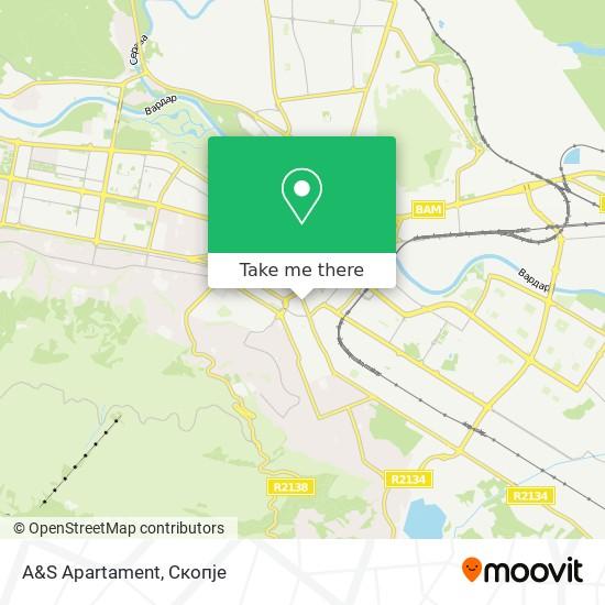 A&S Apartament map