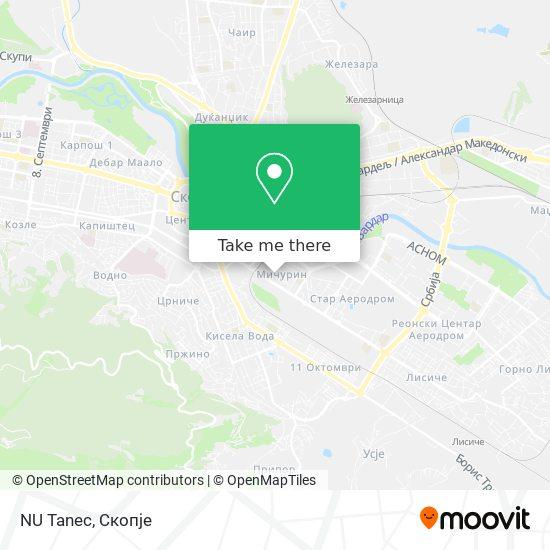 NU Tanec map