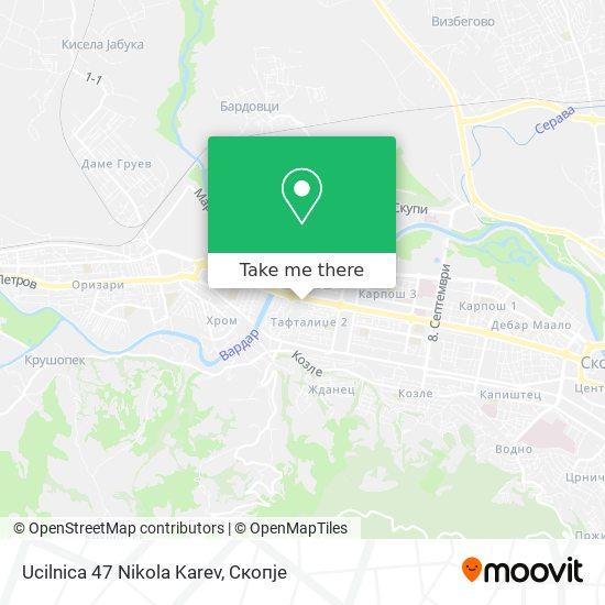 Ucilnica 47 Nikola Karev map