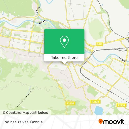 od nas za vas map