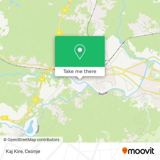 Kaj Kire map