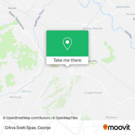 Crkva Sveti Spas map