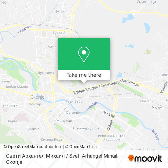 Свети Архангел Михаил / Sveti Arhangel Mihail map