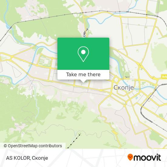 AS KOLOR map