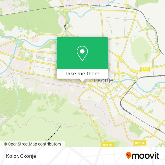 Kolor map